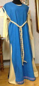 Mittelalterliches Leinen Kleid