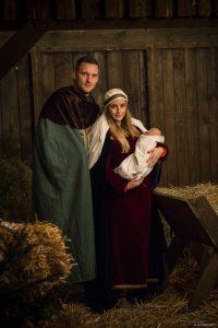 Krippenspiel Maria und Josef